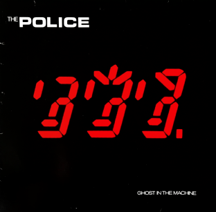 Police ‎(The) - Ghost In The Machine (LP) (VG/G++)